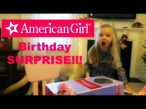 JANE'S 4TH BIRTHDAY-AMERICAN GIRL DOLL SURPRISE! (12.19.16)