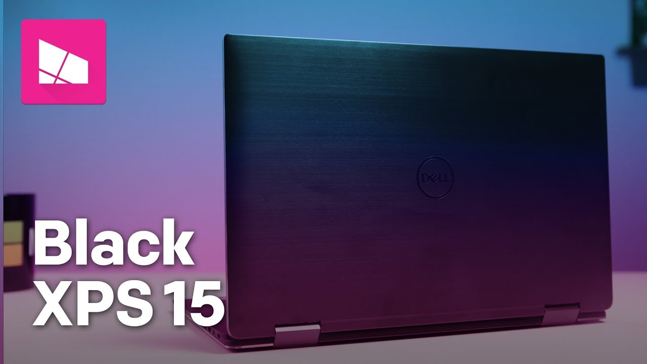 Dell XPS 15 2-in-1 (9575) in 'brushed onyx' is slick and sleek