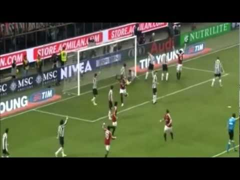 CLAMOROSO Muntari Goal Milan-Juve (HIGH QUALITY)