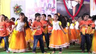 Annual Day 2015-16 Dance performance by 2nd class Boys&Girls