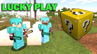 ч.12 Опасные битвы в Minecraft - Лезер Демон босс (wildycraft)