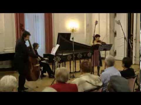 F. M. Veracini Sonata for violin and basso continuo / Marta Abraham violin