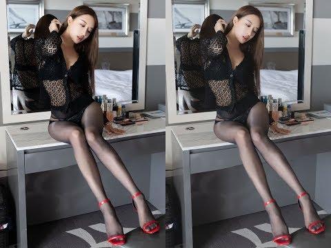 假如有一位這麼美的姑娘坐你旁邊,你還能安心上班嗎Anastasia秦妃