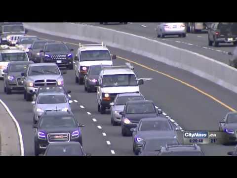 680News traffic reporter Darryl Dahmer's HOV hitlist