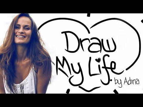 Draw My Life - Adina Rivers | MyTinySecrets