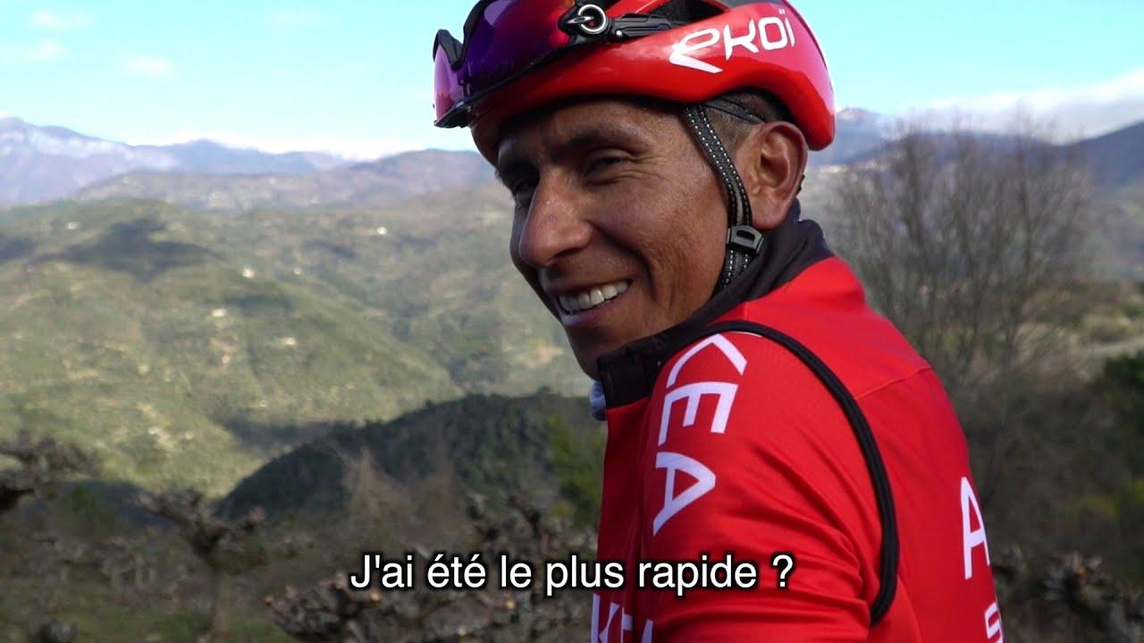 La reprise 2021 de Nairo Quintana