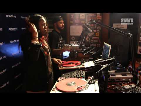 McDonald's Flavor Battle finalist, DJ Erika B Mixes on Sway In The Morning