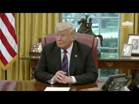 President Trump Discusses the United States - Mexico Trade Agreement