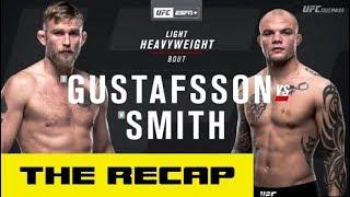 UFC on ESPN+ 11: Alexander Gustafsson vs. Anthony Smith Recap