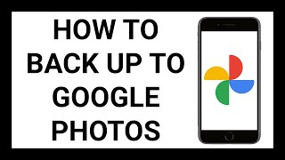 How to Back Up Photos on an iPhone to Google Photos | Tutorial