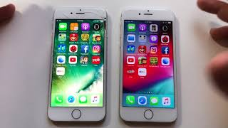 iOS 12 vs 10.3.3 iPhone 6! Unexpected results !