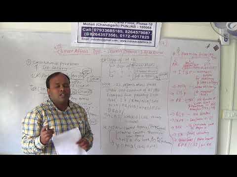 Indus Academics CDSE(II)2017 Quality Improvement Program - Internal Security