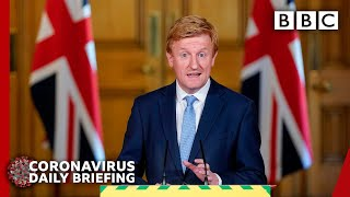 Coronavirus: UK announces return for competitive sport - Covid-19 Government Briefing 🔴 - BBC