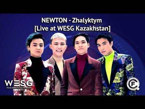 NEWTON - Zhalyktym [Live at WESG Kazakhstan]