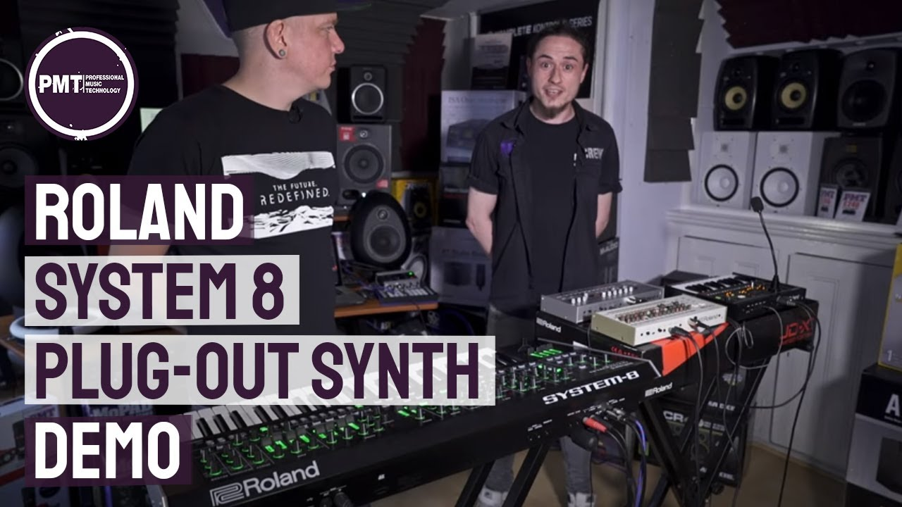 New JX-3P Plug-Out And FM Update For Roland System-8 | PMT