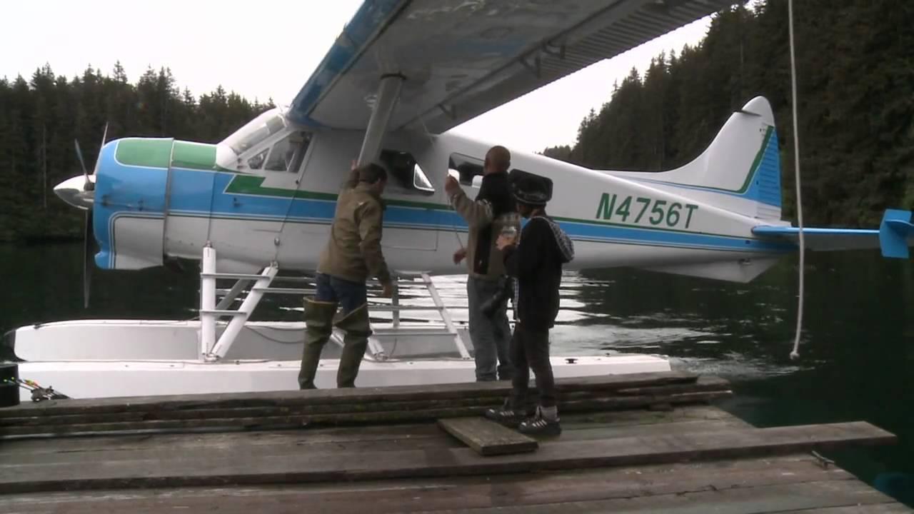 Beaver aircraft approach-Alaska like...