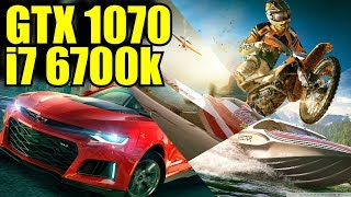The Crew 2 BETA GTX 1070  & i7 6700k | 1080p & 1440p | FRAME-RATE TEST