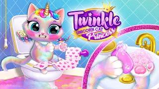 Twinkle - Unicorn Cat Princess | Virtual Pet Care Games for Kids