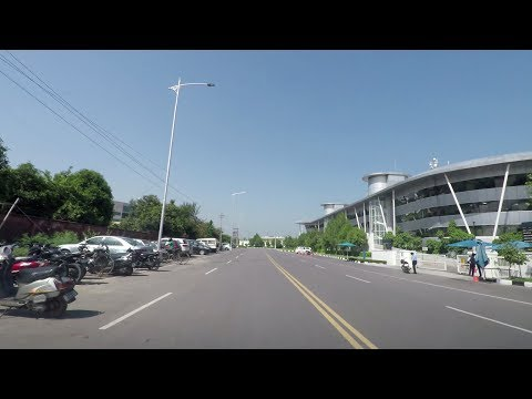 Driving in Chandigarh 4K - India