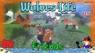 ROBLOX - Wolves' Life v2 BETA - Friends! #54 - HD