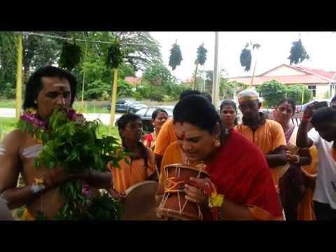 Udukai Arul Paadal at Tupah,Sri Muthu Mariamman Alayam - Highlights