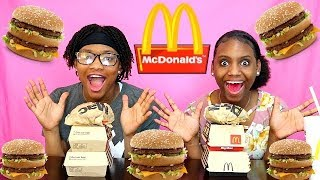 the ultimate big mac challenge