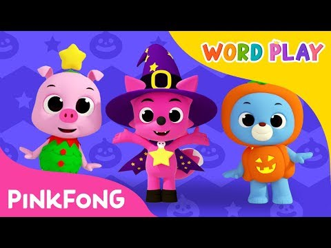 Knock, Knock, Trick-or-Treat | Halloween Songs | Word Play | Pinkfong Songs for Children