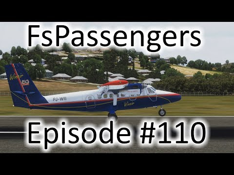 FSX | FsPassengers Ep. #110 - Martinique to St. Lucia (Bad Rating) | DHC-6-300
