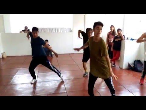 Sensación del bloque - Randy & De La Ghetto - BAILE COREOGRÁFICO-WORKSHOP AMOIRA Dance
