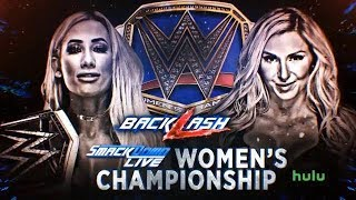 WWE Backlash 2018 Charlotte vs Carmella 2K18 Simulation