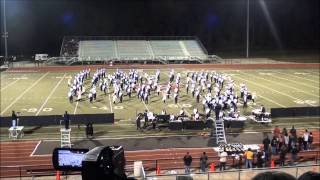 2012 olive branch high school marching band ms marching championship new rock symphony