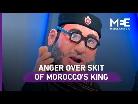 Anger in Morocco over comedy skit on Algerian TV depicting King Mohammed VI