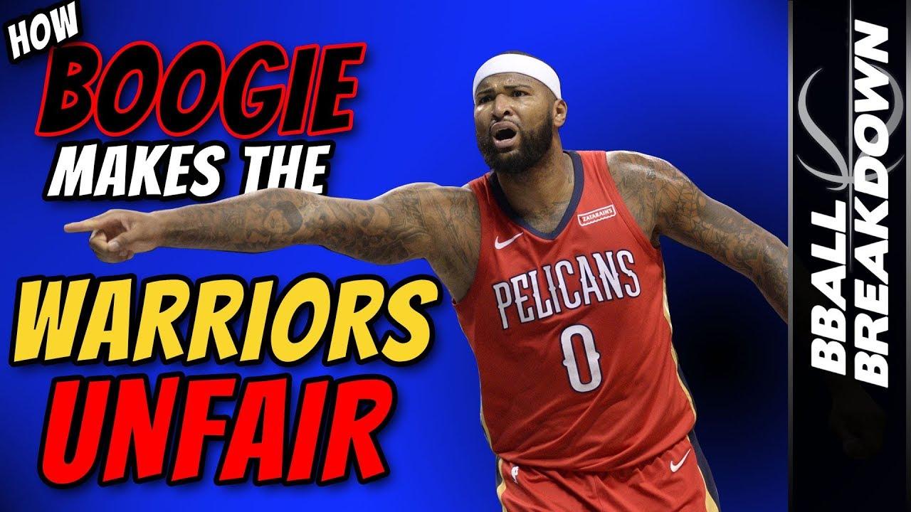 buy online b7552 77cb1 How BOOGIE Makes The Warriors UNFAIR