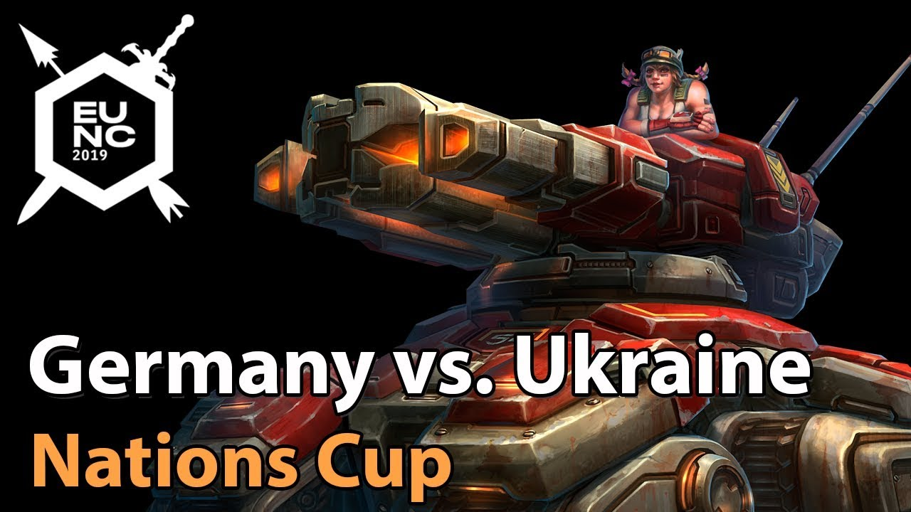 ► Germany vs. Ukraine - Nations Cup - Heroes of the Storm Esports
