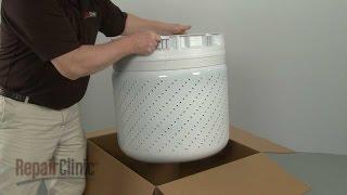 washer inner tub replacement whirlpool top load washing machine repair part w10554251