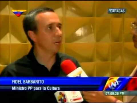 Fidel Barbarito tras inaugurarse tres discos en homenaje al cuatro en el Teresa Carreño