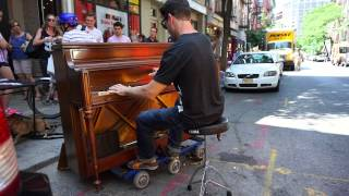 Piano Improvisation no 3- Tango Ragtime in NYC