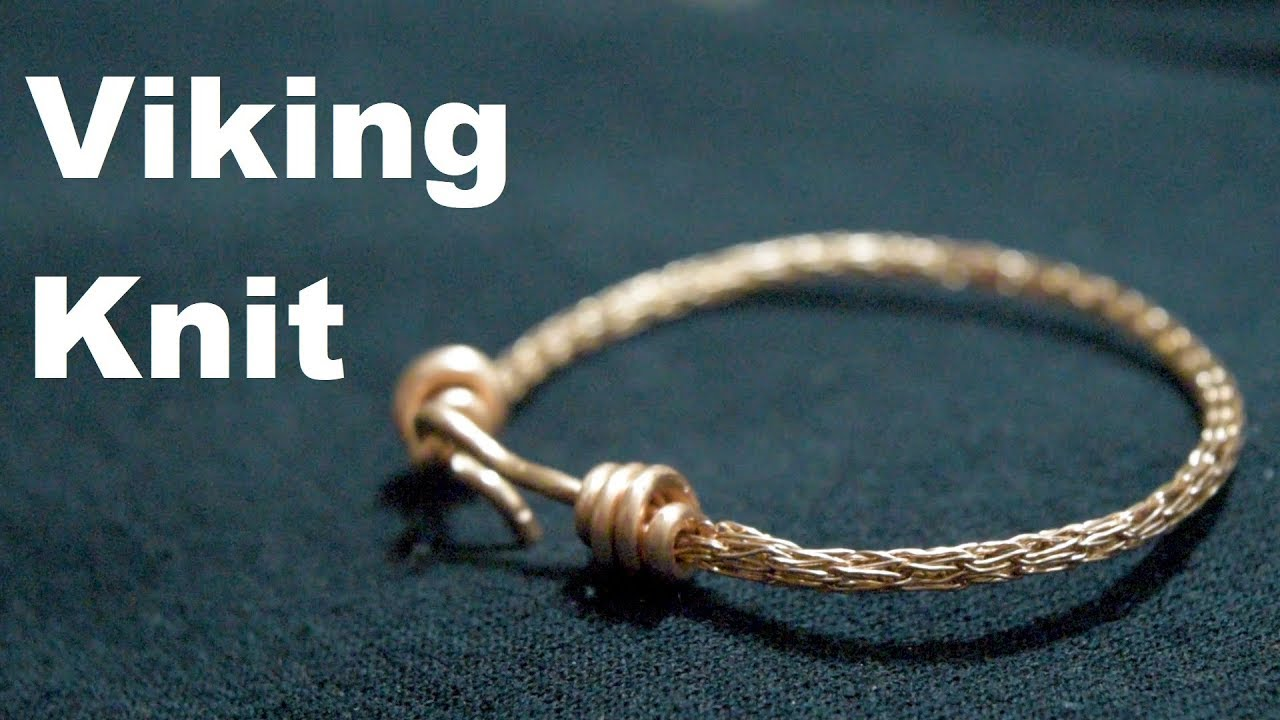 Viking Weave Copper Bracelet | Making Jewelry with Scrap Wire - YouTube
