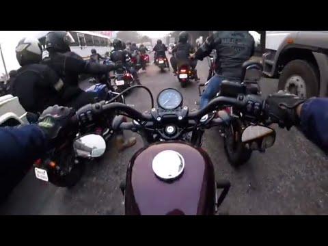 Navi Mumbai Vashi Vlog #9 Harley Davidson Sunday Ride To Pune