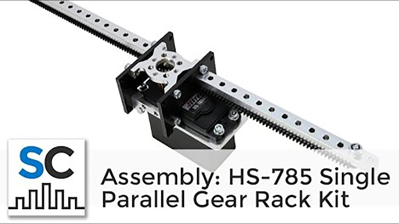HS-785 Single Parallel Gear Rack Kit Assembly Video