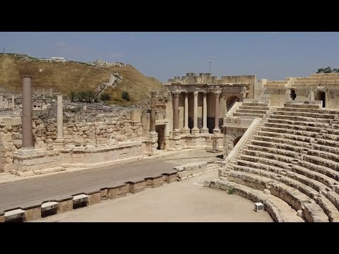 Bet She'an – A Tel with a Theater, Toilets, Temple and more…