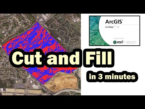 GIS ArcMap: Cut Fill command. How to compare two Raster surfaces