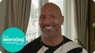 Dwayne Johnson Is Always Happy to Be Called 'The Rock'   This Morning