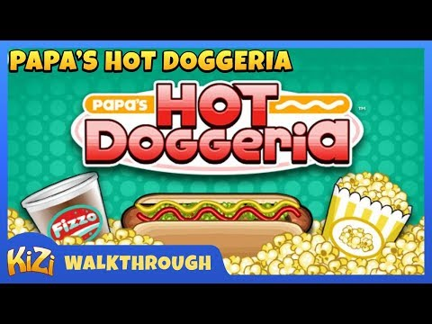 [Kizi Games] Papa's Hot Doggeria → Gameplay