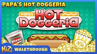 [Kizi Games] Papa's Hot Doggeria → Gameplay