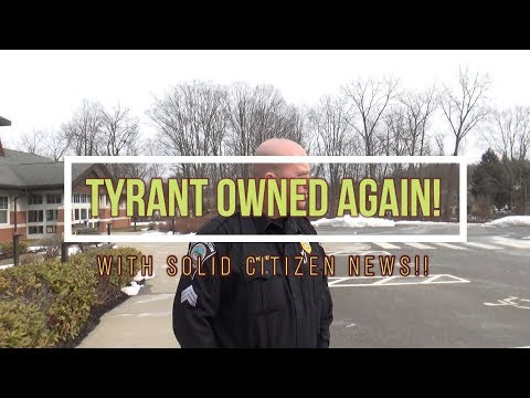 TYRANTS OWNED WITH SOLID CITIZEN NEWS!!
