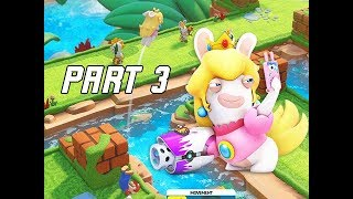 Mario + Rabbids Kingdom Battle Walkthrough Part 3 - SMASHER (Switch Let's Play)