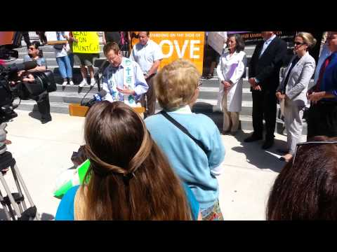 D. Bruce Hanes Rally For Marriage Equality