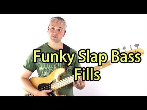 Funky Slap Bass Fills and How To Practice Them (Mark King Triplets etc.)