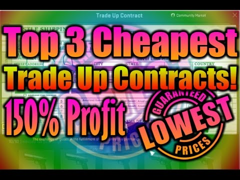 Top  Cheapest Trade Up Contract  Csgo  Profit  Youtube